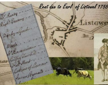 Kerry Tenants of the Earl of Listowel 1755