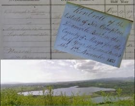 Domville tenants in Manulla area of Mayo 1833.