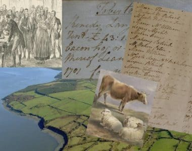 Tenants  of the Sandes estate in North Kerry 1797 – 1828.
