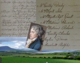 Tenants of Crosbie Estate in Ardfert, Kerry 1805-12
